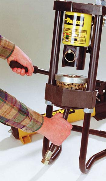 Опрессовка шлангов высокого давления своими руками